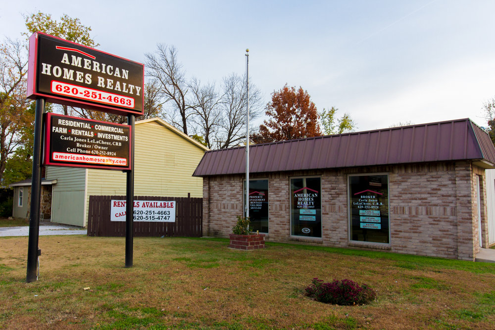 American homes realty in coffeyville, kansas. serving northeast oklahoma and southeast kansas
