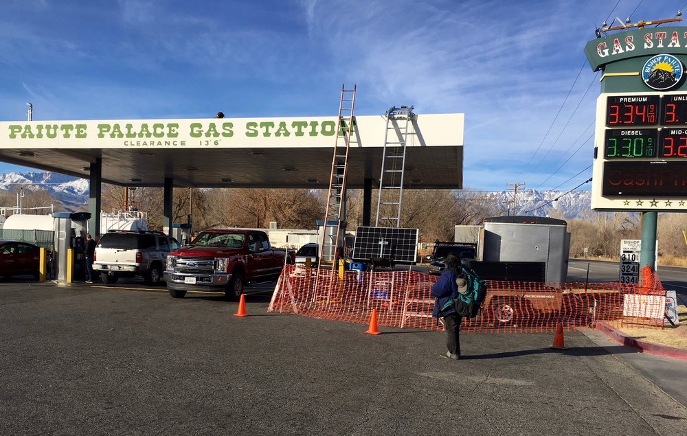 Paiute Palace Gas Station, Bishop, CA
