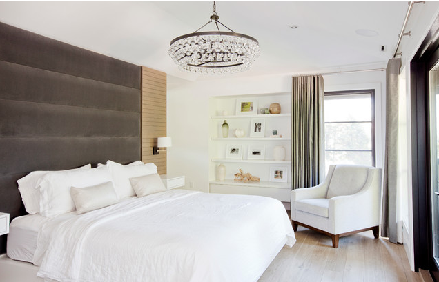 Upholstered headboard walls for stephanie Brown inc.