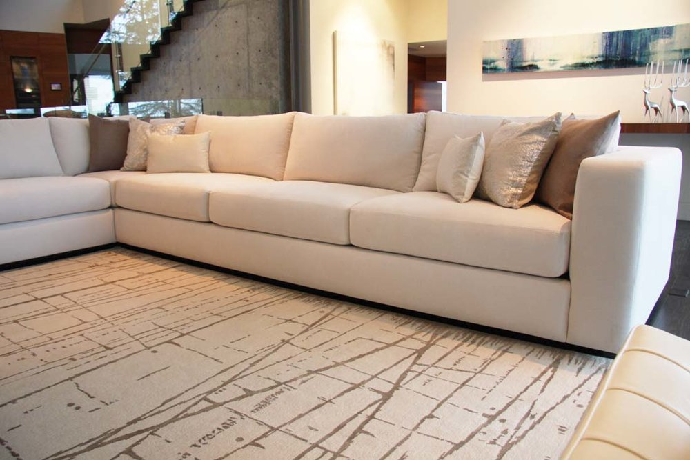 Bespoke sectional.