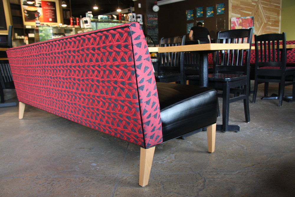 bench seat for Cafe Divano