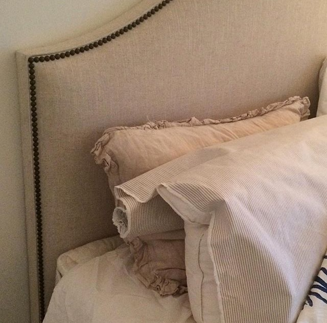 custom traditional headboard