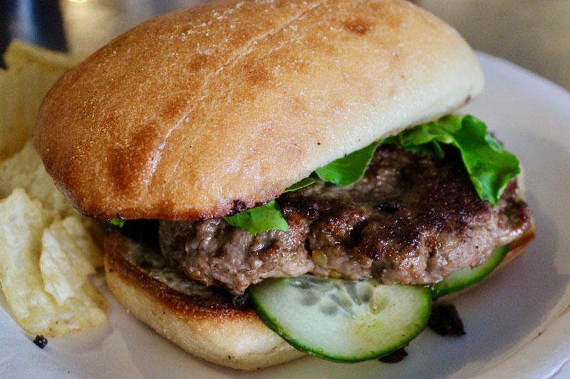Crazy Good Lamb Burger
