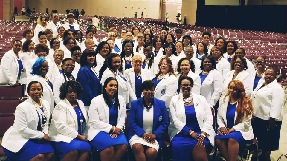 Sorors came out to support our Atlantic Region Director Gina Merritt-Epps, Esq. and at Alpha Kappa Alpha's 88th North Atlantic Regional Conference for their public meeting.  #atlanticregionzetas  #awesomeatlanticregion   #zphib