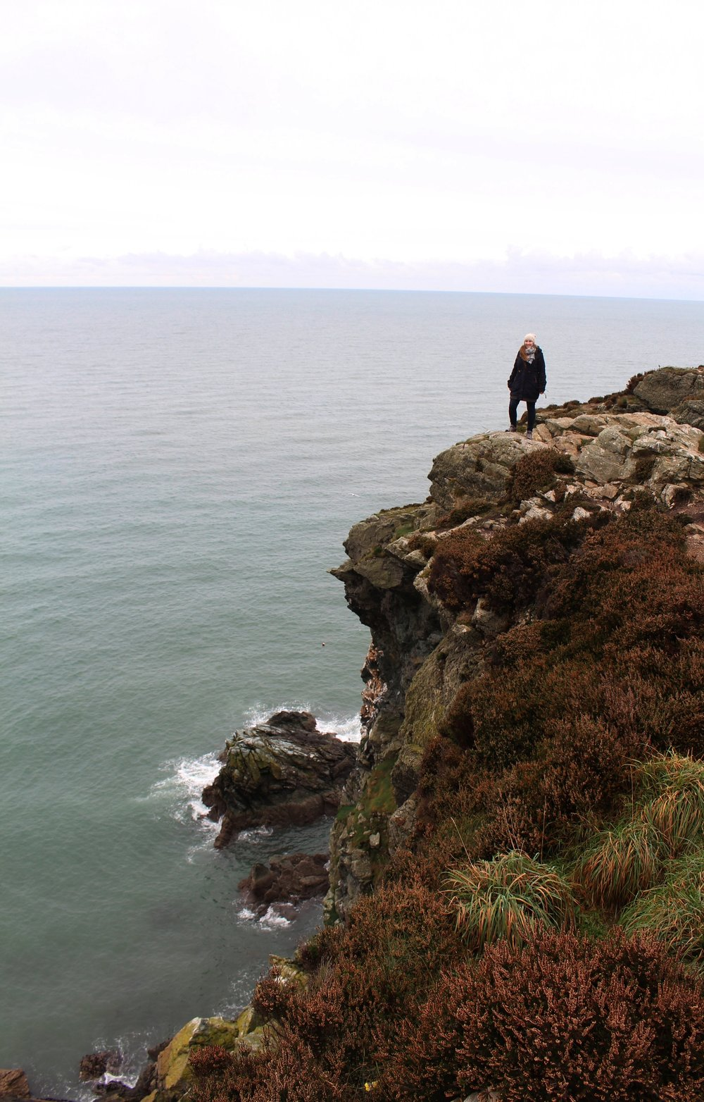 Me standing on the Cliffs