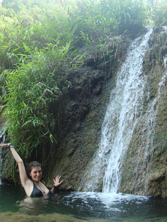 In the beautiful Semuc Champey
