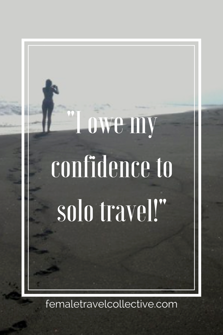 Pinterest - I owe my confidence to travel