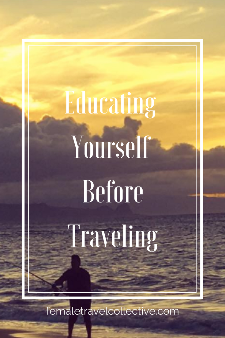 Pinterest Educating Myself before traveling