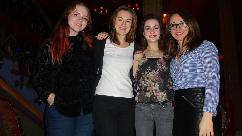 Some of the best nights out in Paris were spent with just my girlfriends.