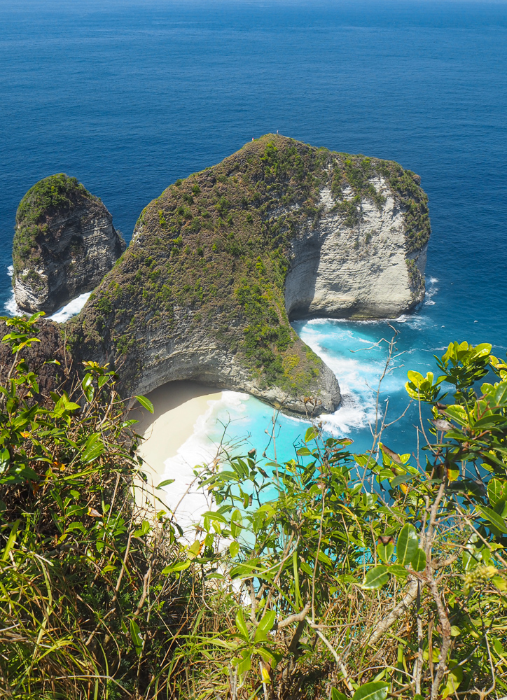 A must do in this Nusa Penida Guide from Lembongan: Kellingking Cliffview