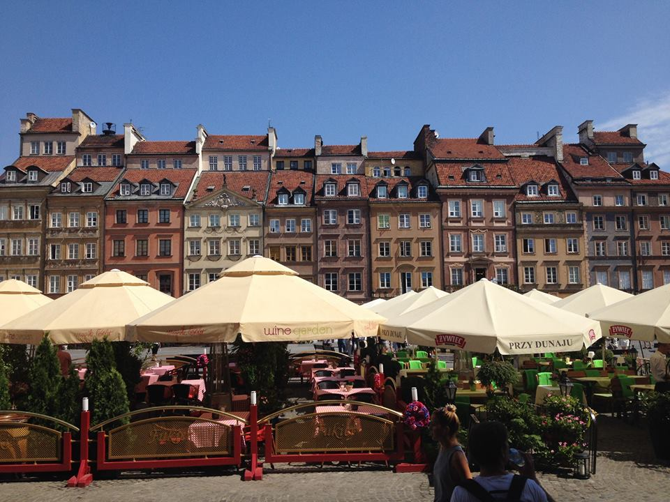 A square in Gdansk, Poland. I was experiencing discomfort with my bite, but not enough to keep me from exploring the city.