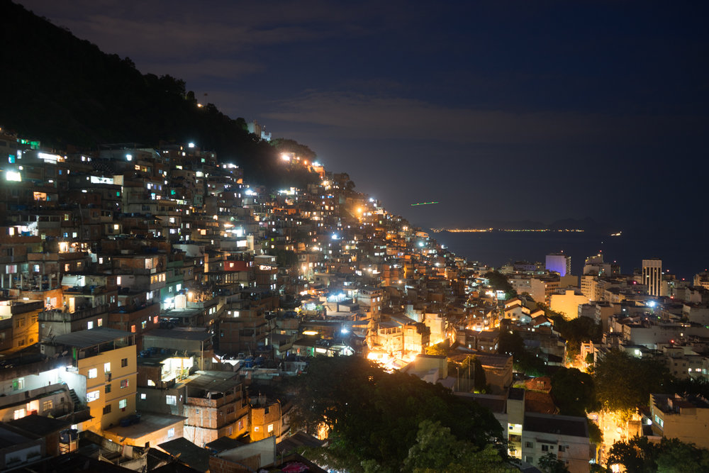 View from the Hostel in the Favela