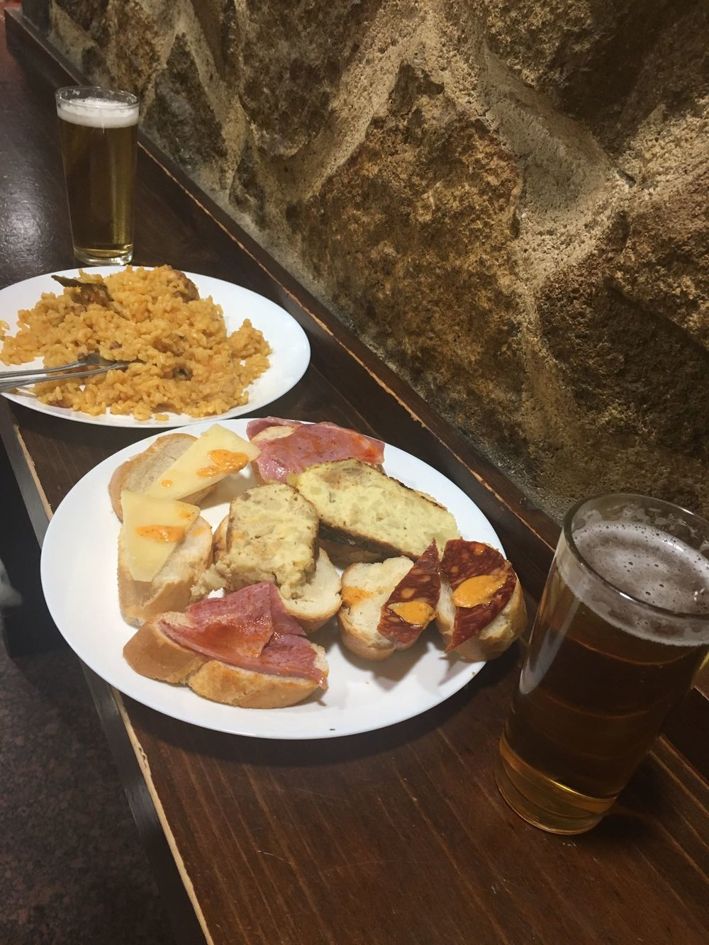 Montaditos and Paella at El Tigre