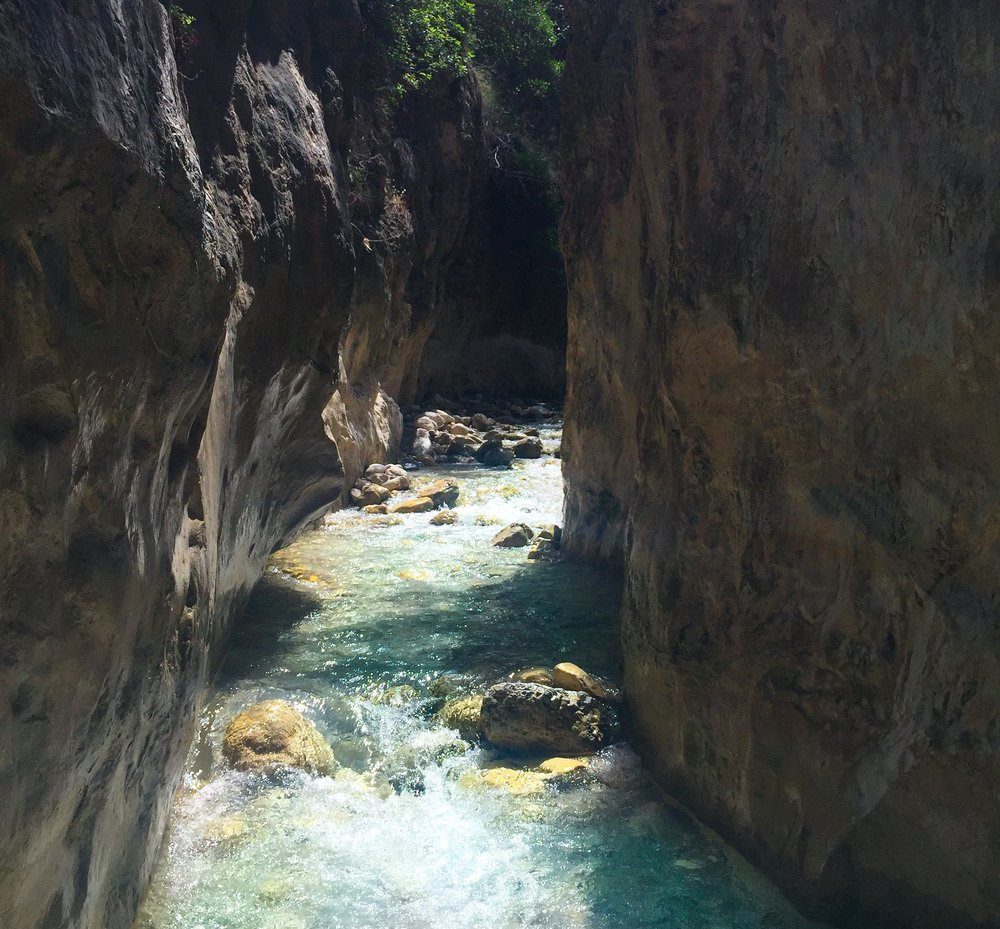 A Hike in the Water - The Rio Chillar in Nerja, Spain -