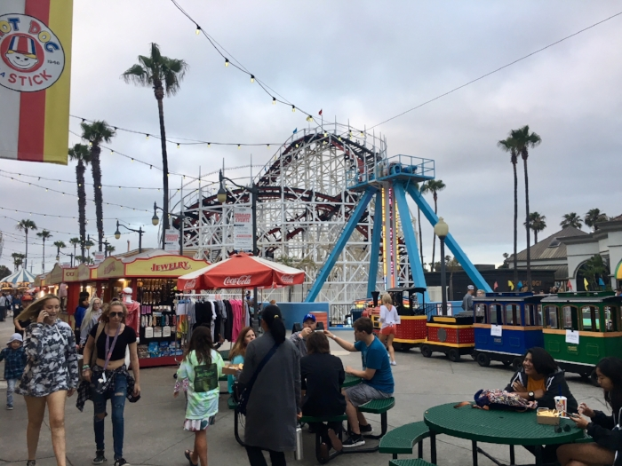San Diego's Belmont Park took me on a nostalgic trip through the fun of a seaside carnival.