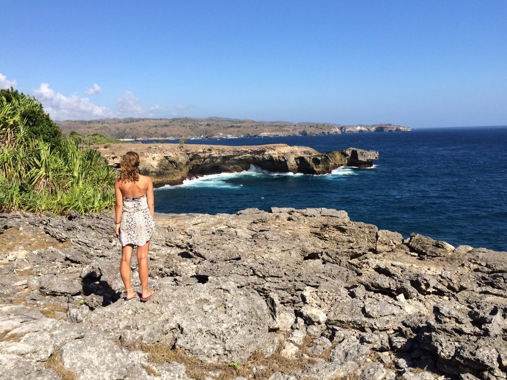 I couldn't believe how lucky I was to experience these views on Nusa Lembongan