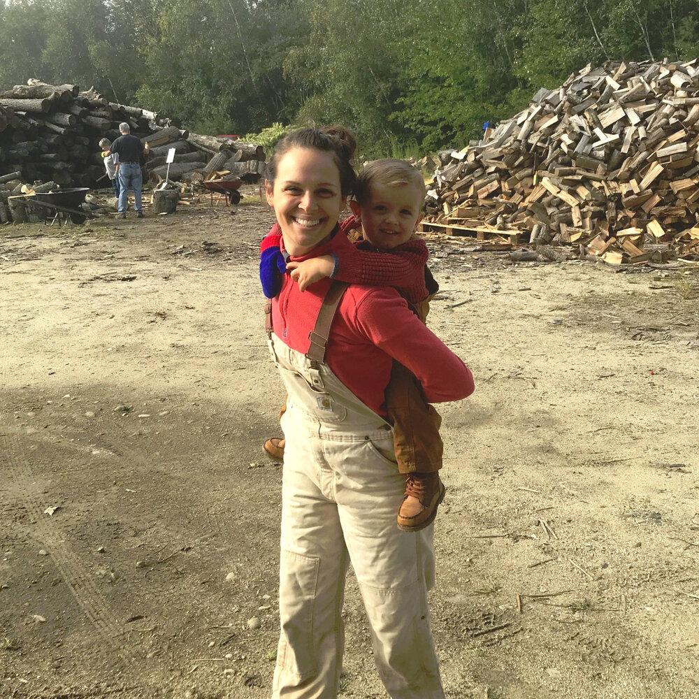 Wood Bank Volunteer Image