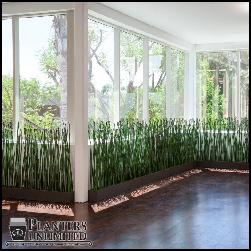 Bamboo Grass Divider