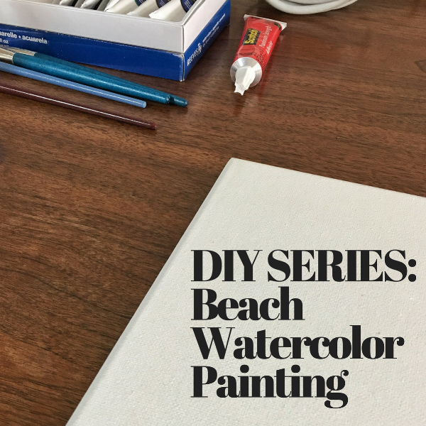 Life With Michele Renee - DIY Beach Water Color