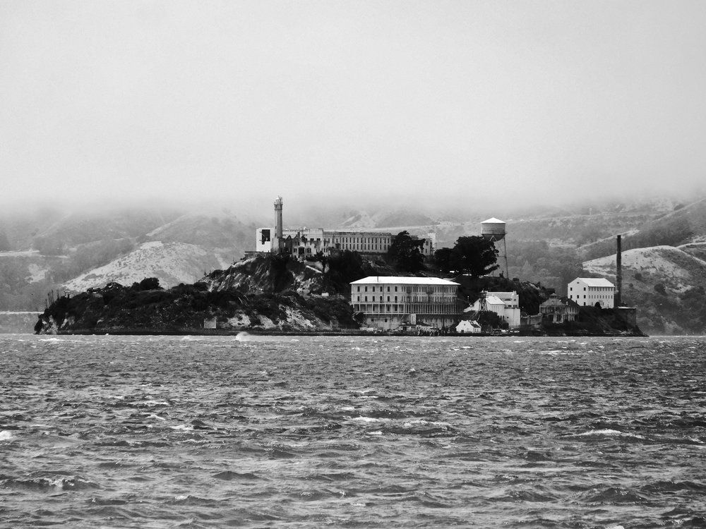 Ode to Alcatraz 2017 My view from Treasure Island couldn't have been any better. It was a clear day and I easily zoomed in on Alcatraz. As clear as this photo seems, it is extremely hard to get a clear shot when the fog covers San Francisco.