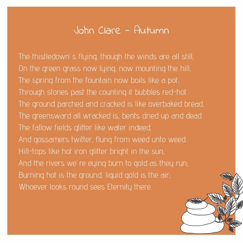 John Clare - Autumn