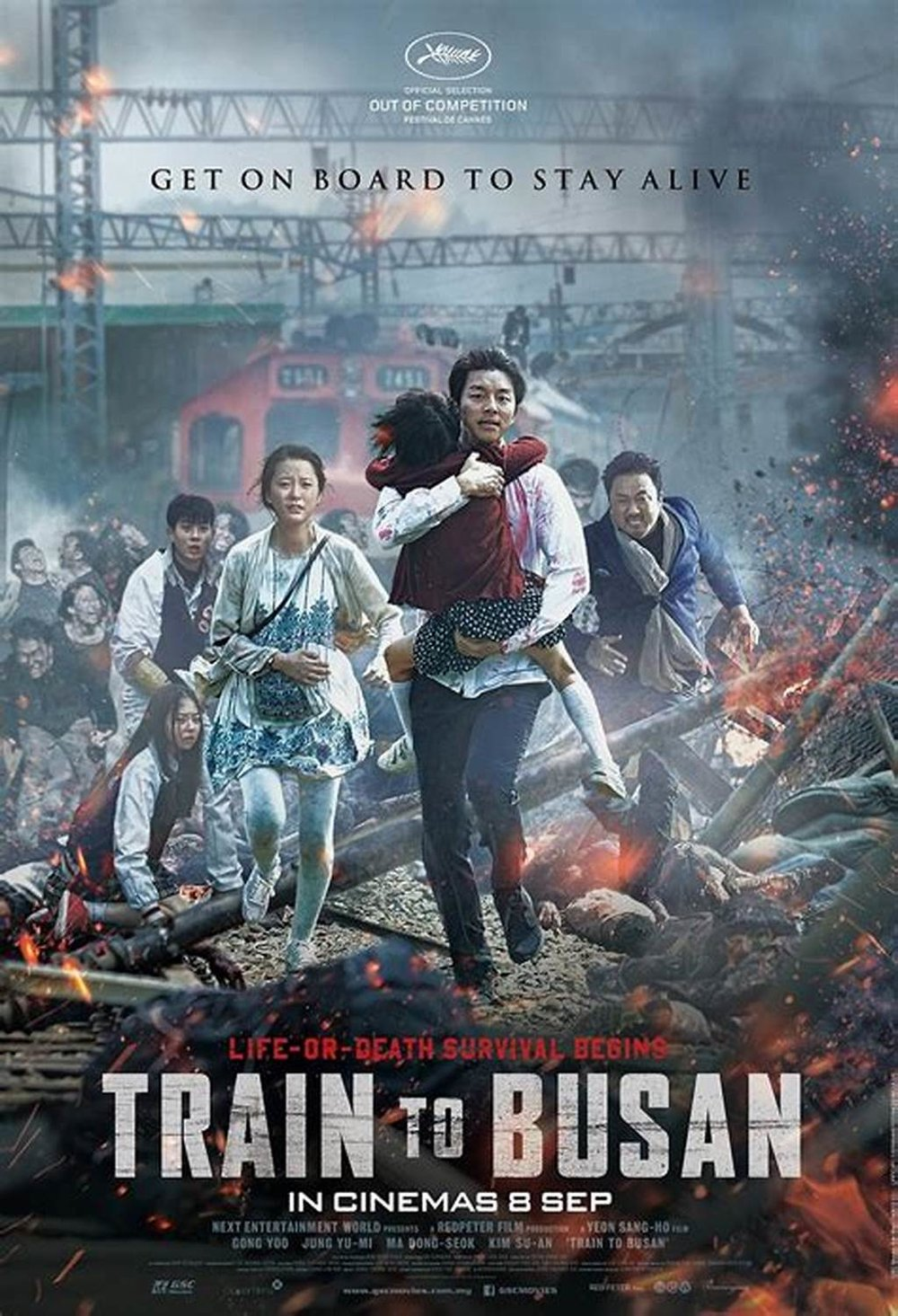 Train to Busan - Region: Korea