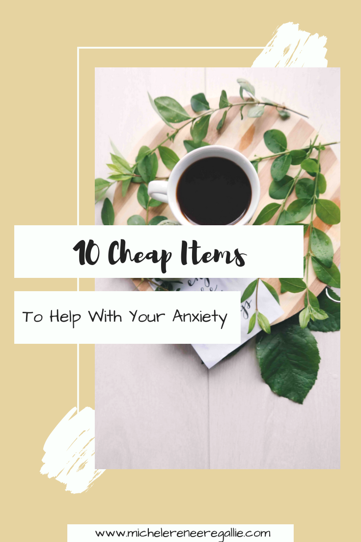 10 Items to Help With Anxiety