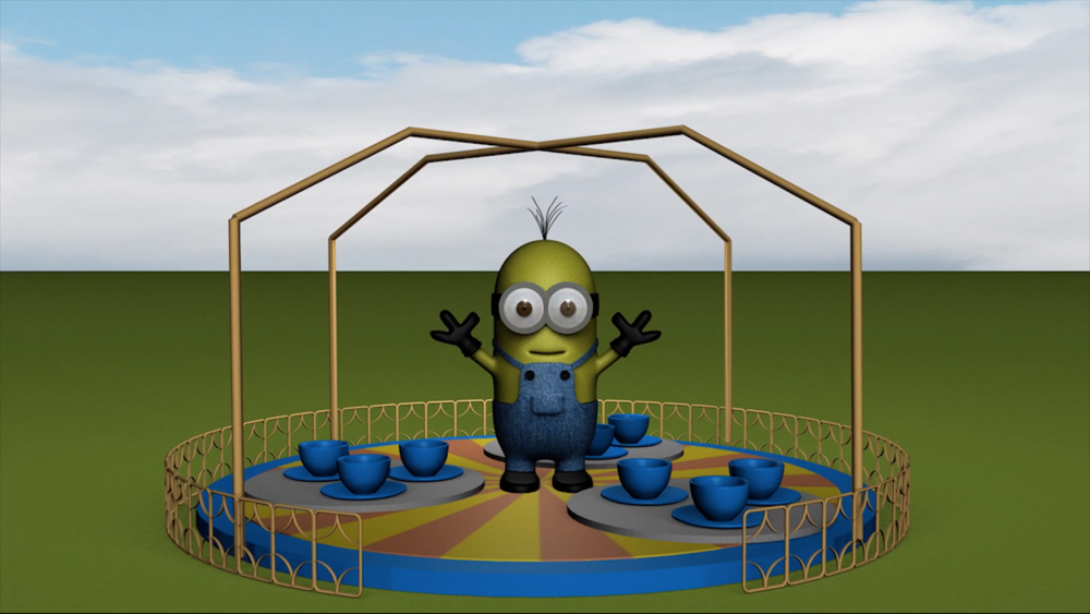 Despicable Tea Cups - 2016