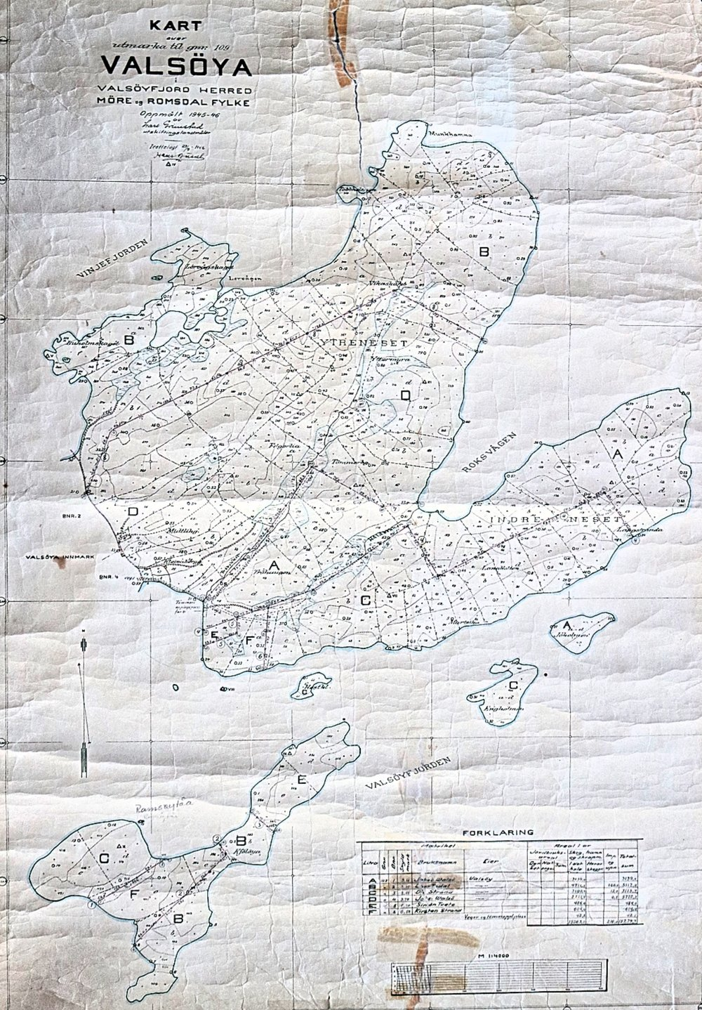 Valsoya Map