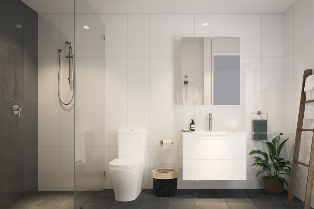 Website | File | Terence Yong Architecture | Onyx Apartments, Northmead | Bathroom interiors with a reduced palette of soothing, natural materials.jpg