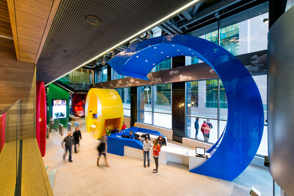 Google's Dublin Office. Photo: Peter Würmli, Camenzind Evolution