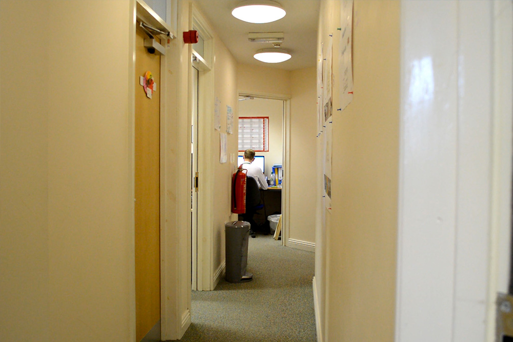 The current Rainbows Children's Hospice Offices - First Floor