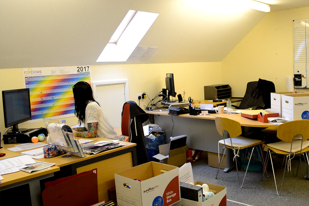 The current Rainbows Children's Hospice Offices - Second Floor