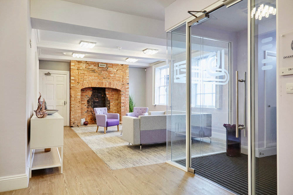 The result of the office refurbishment we completed at  DB Wood .