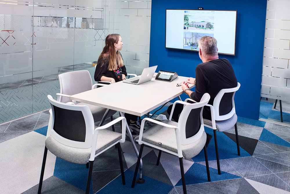 meeting and training spaces -