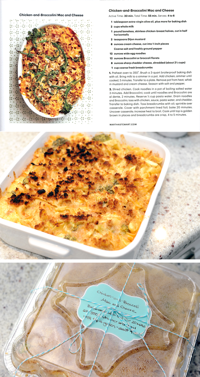 Chicken-and-Broccoli Mac and Cheese