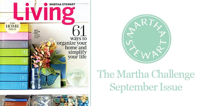 The Martha Challenge