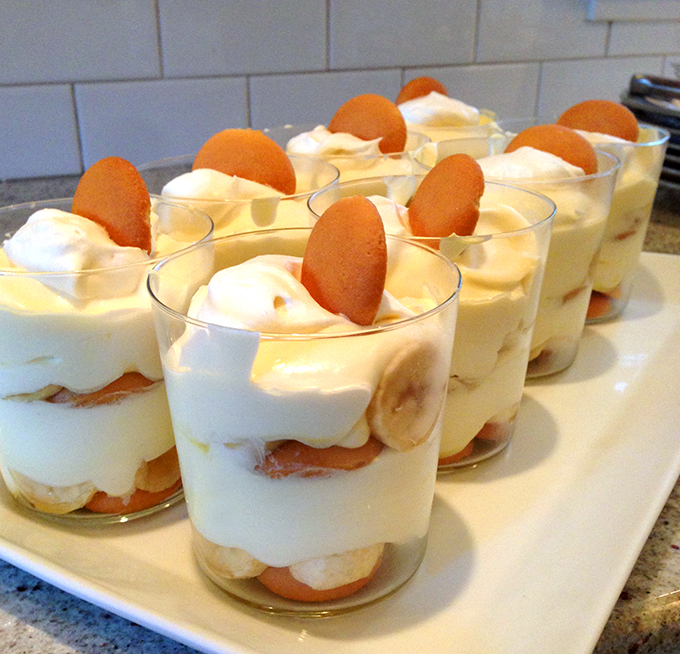 Banana Pudding in single servings