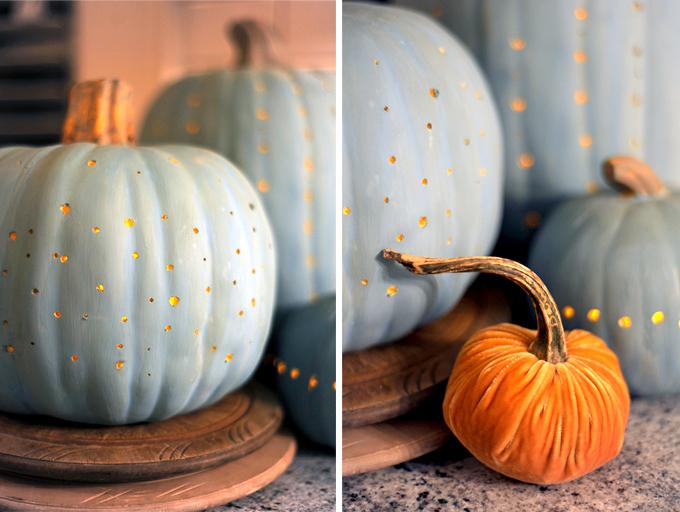Freckle Pumpkins