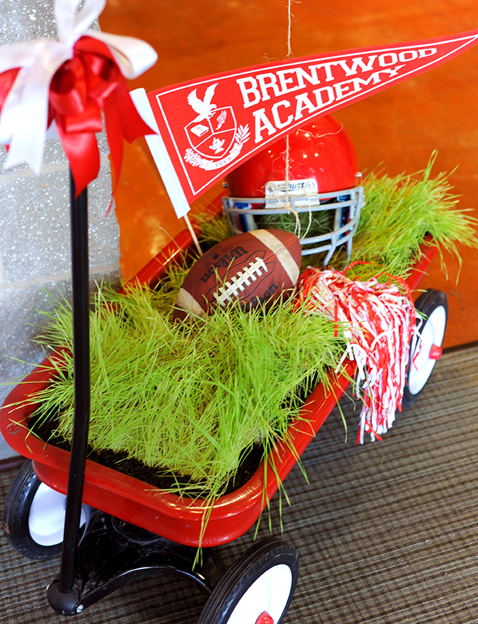 wagon filled with wheatgrass
