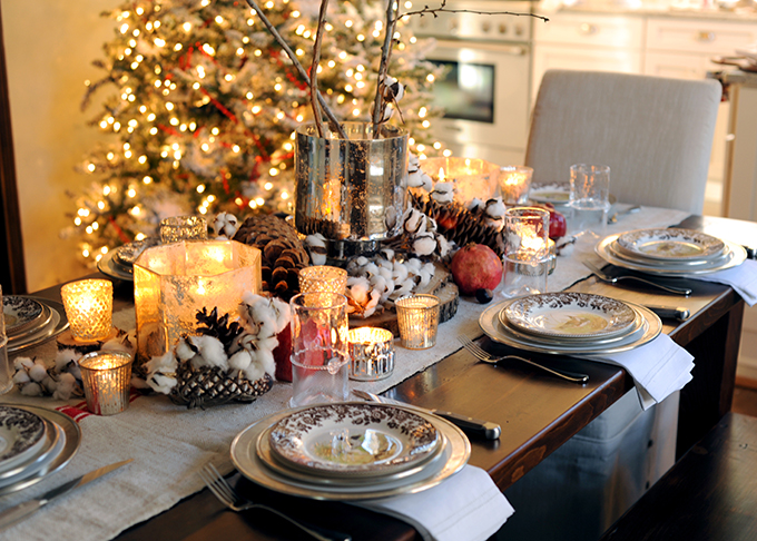 Thanksgiving Table - so elegant!