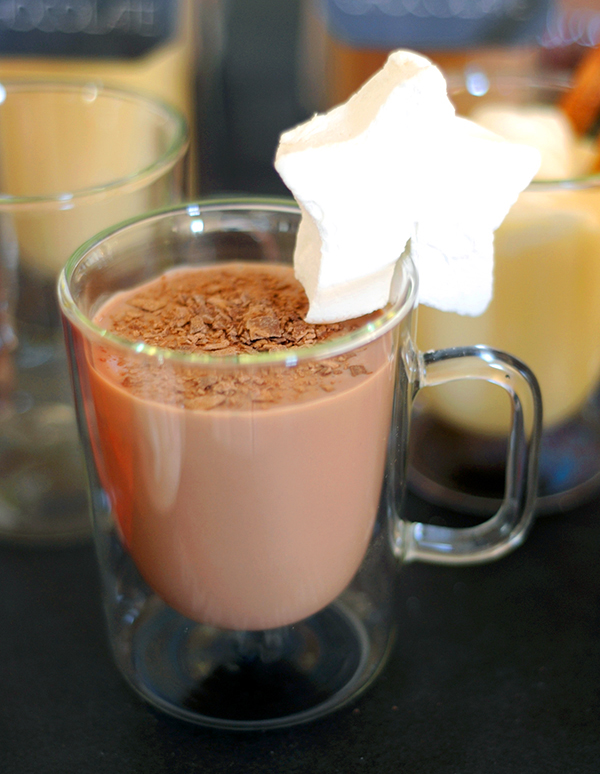 Hot Chocolate with Homemade Marshmallows