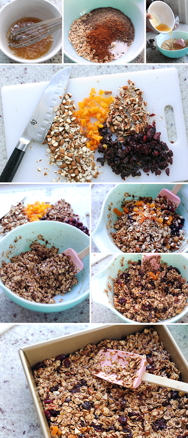 Granola Bars How To