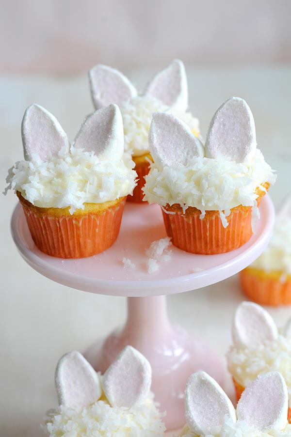 Bunny Coconut Cupcakes-5816