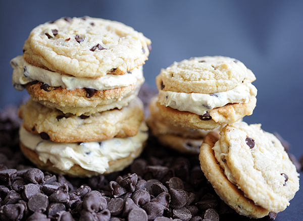 Chocolte Chip Sandwich Cookies-7069
