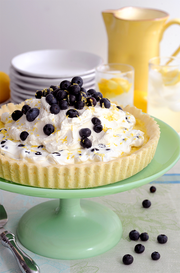 Lemon Blueberry Tart-6736