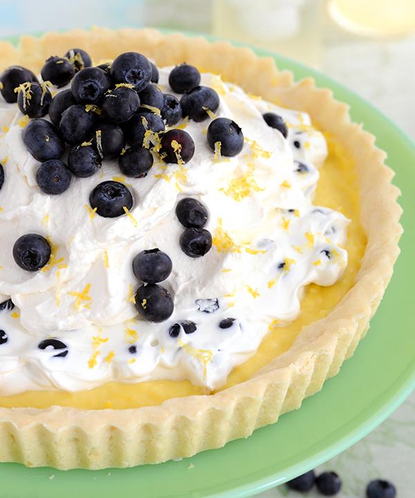 Lemon Blueberry Tart-6761