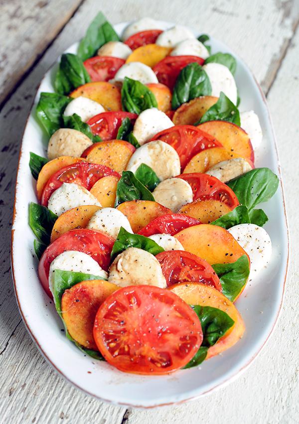Peach Caprese Salad-7224