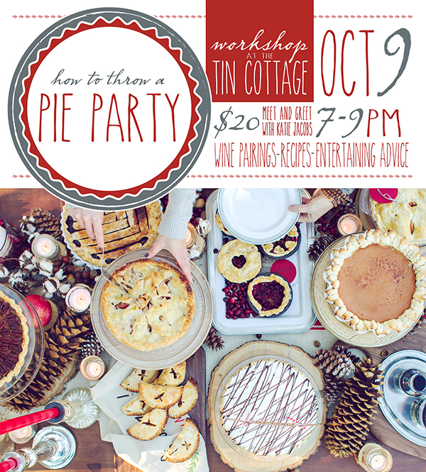 Styling My Everyday Pie Party Workshop