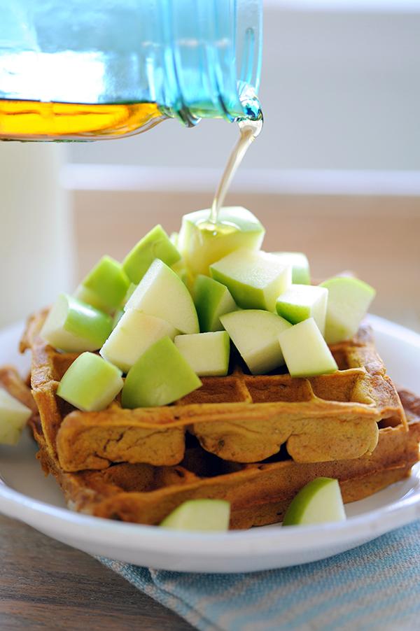 Pumpkin Waffles-8687
